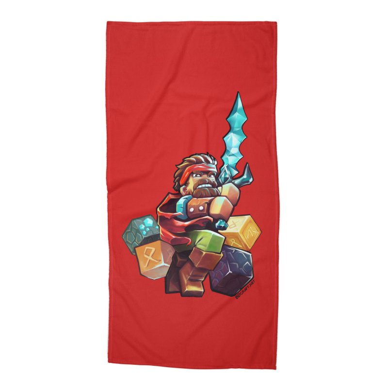 PureBDcraft Hero Accessories Beach Towel by BDcraft Shop