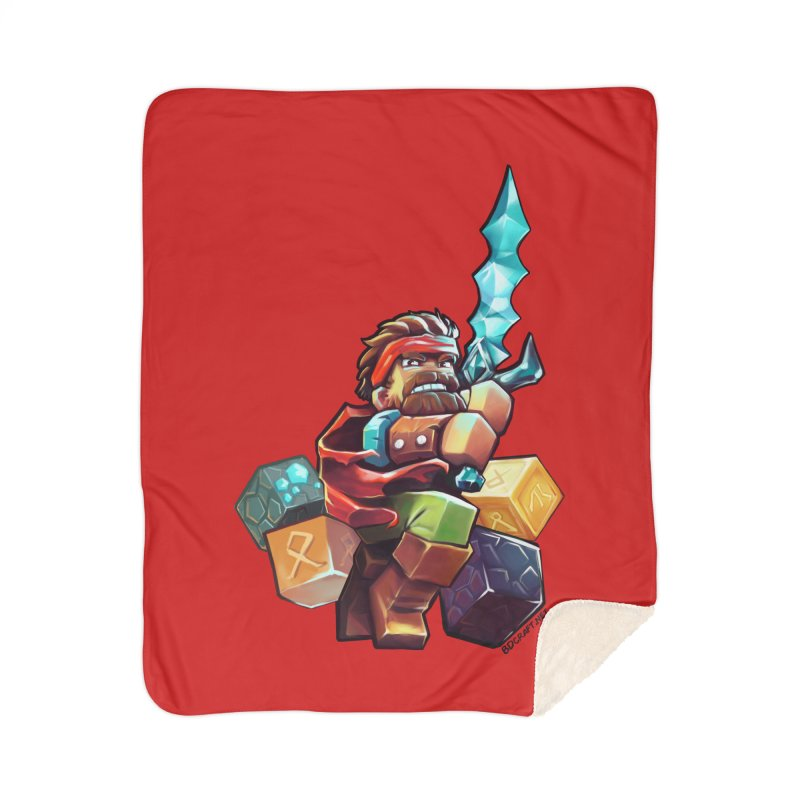 PureBDcraft Hero Home Blanket by BDcraft Shop