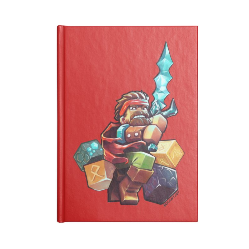 PureBDcraft Hero Accessories Blank Journal Notebook by BDcraft Shop