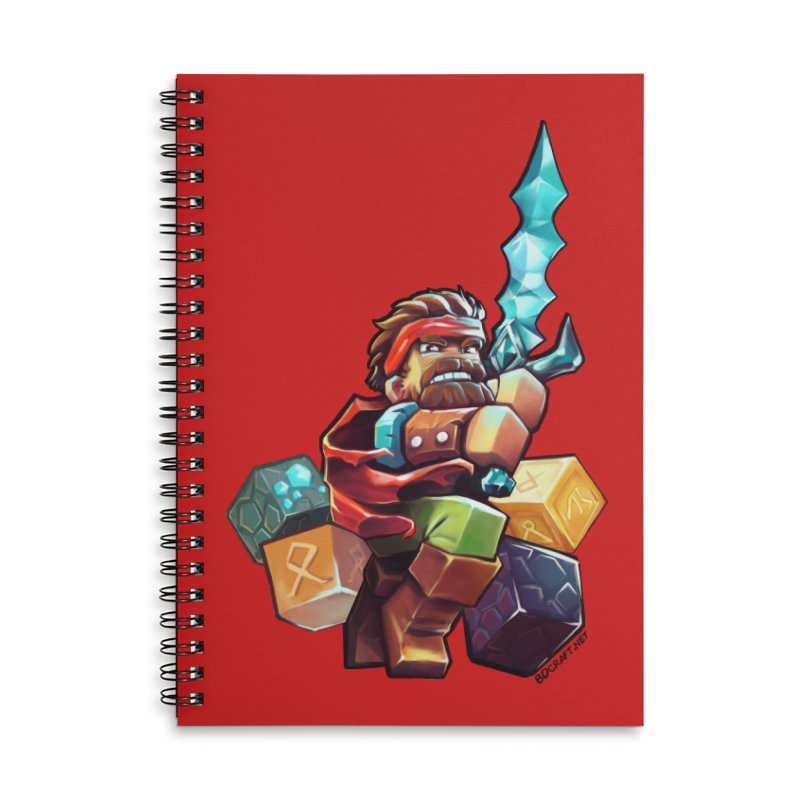 PureBDcraft Hero Accessories Notebook by BDcraft Shop