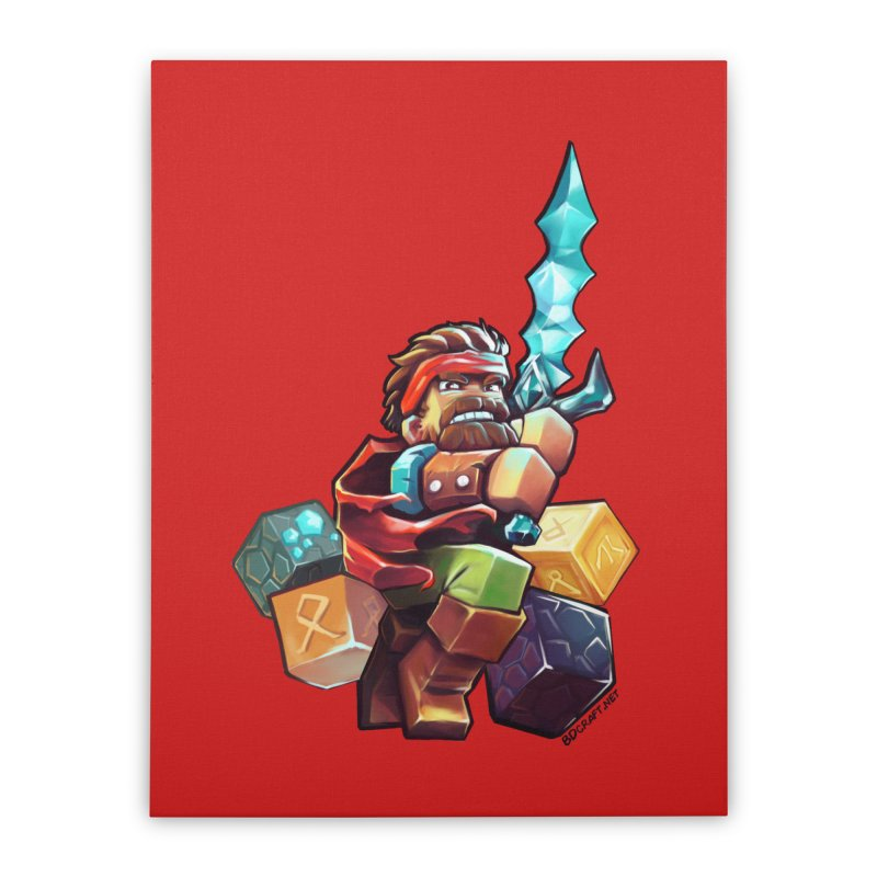 PureBDcraft Hero Home Stretched Canvas by BDcraft Shop