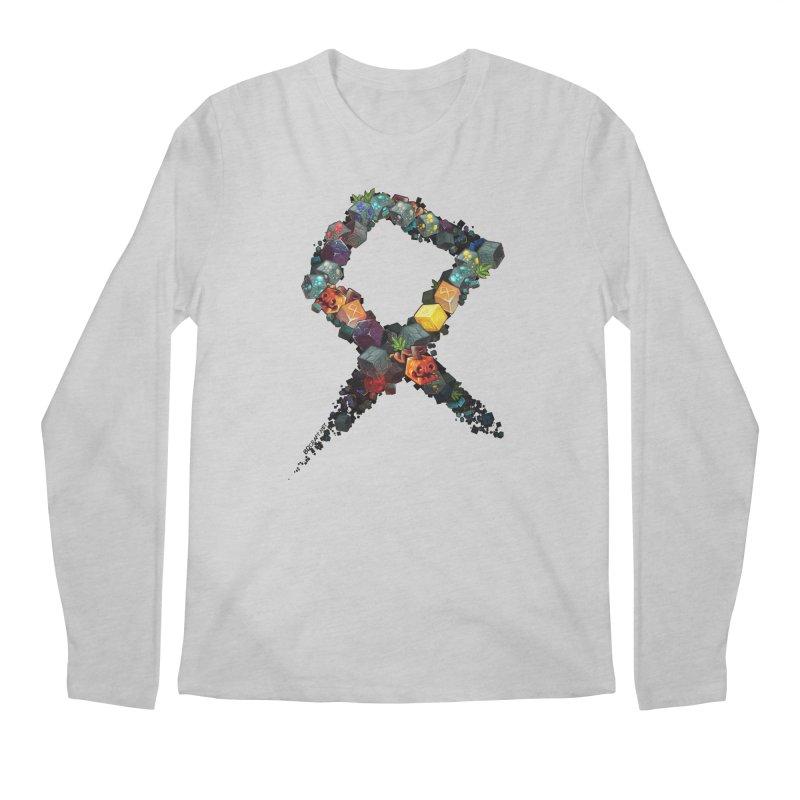 BDcraft Rune of blocks Men's Regular Longsleeve T-Shirt by BDcraft Shop