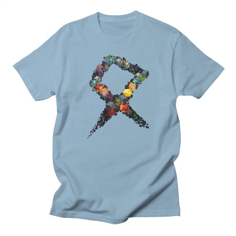 BDcraft Rune of blocks Women's Regular Unisex T-Shirt by BDcraft Shop