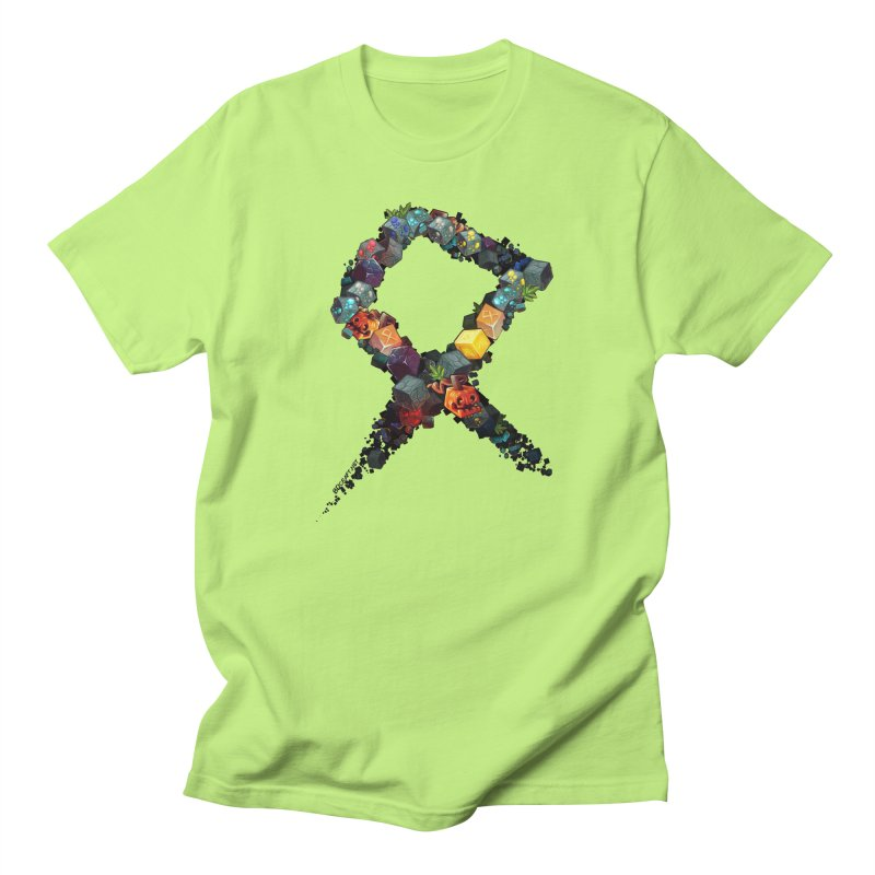 BDcraft Rune of blocks Men's T-Shirt by BDcraft Shop