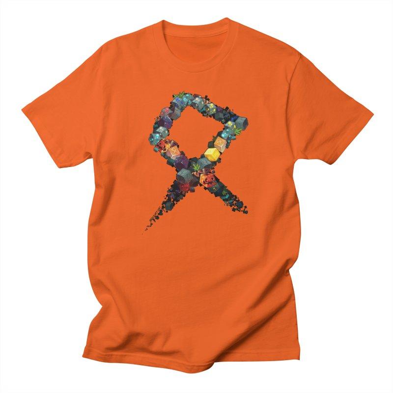 BDcraft Rune of blocks Men's T-Shirt by BDcraft Shop