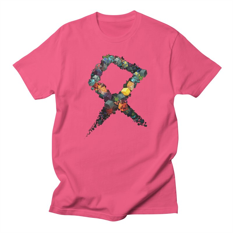 BDcraft Rune of blocks Men's Regular T-Shirt by BDcraft Shop