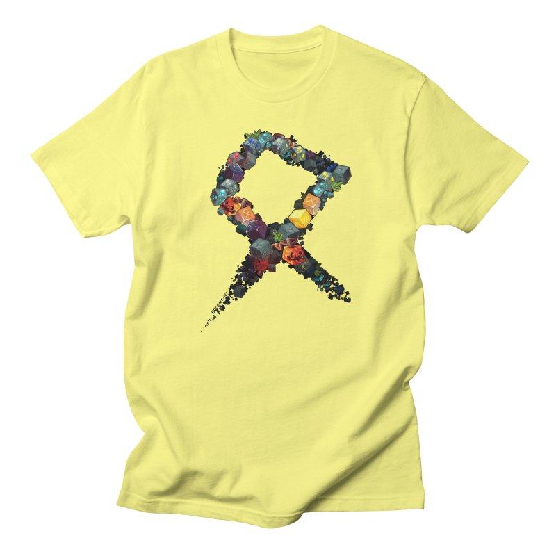 BDcraft Rune of blocks Men's Regular T-Shirt by BDcraft Shop