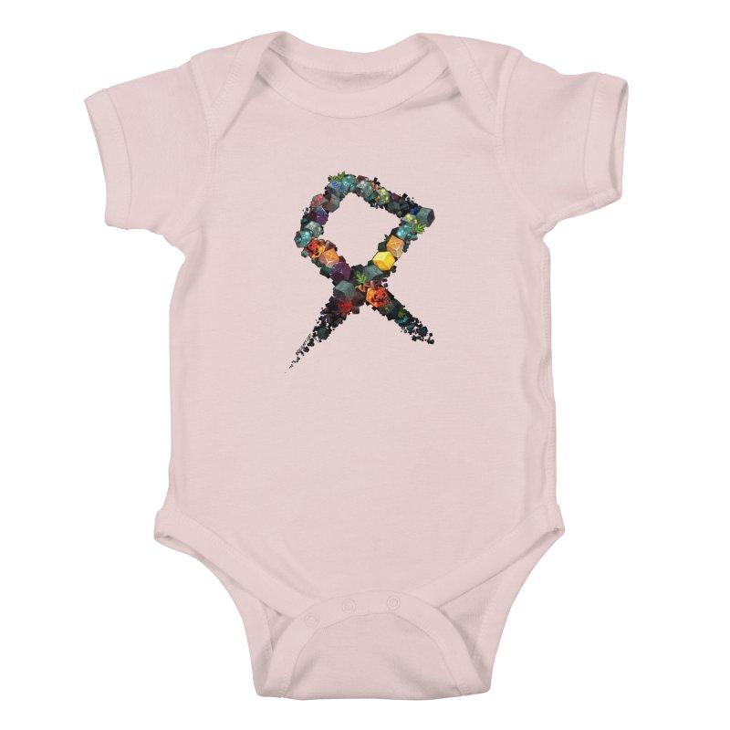 BDcraft Rune of blocks Kids Baby Bodysuit by BDcraft Shop