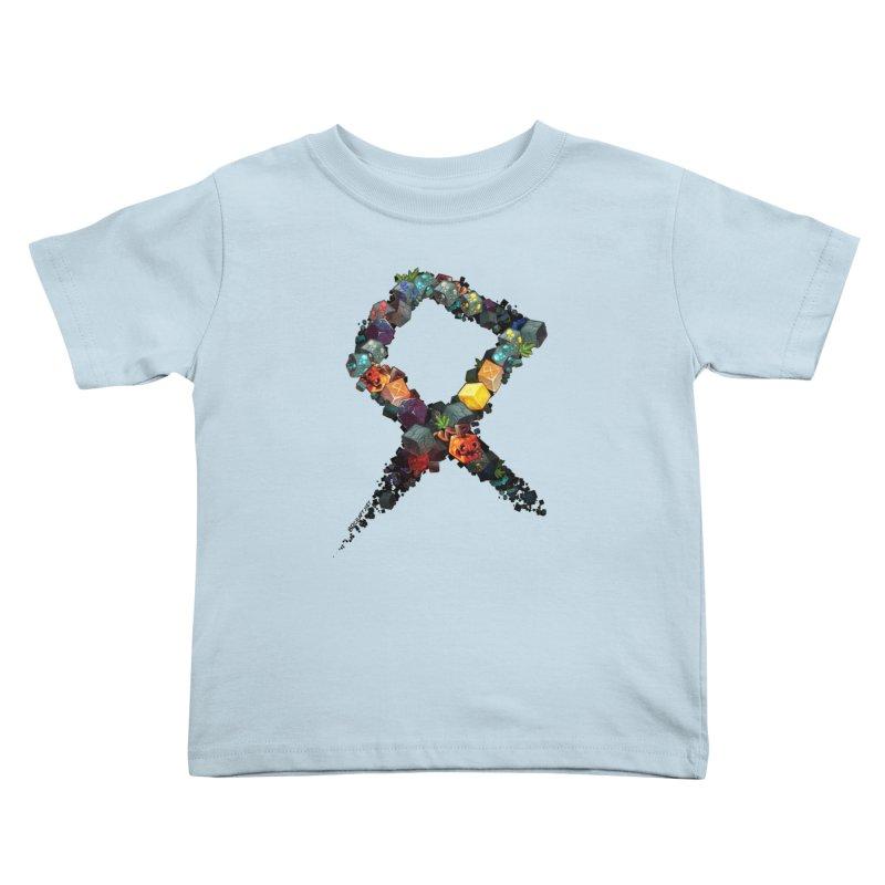 BDcraft Rune of blocks Kids Toddler T-Shirt by BDcraft Shop