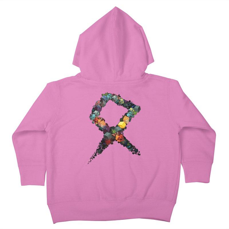 BDcraft Rune of blocks Kids Toddler Zip-Up Hoody by BDcraft Shop