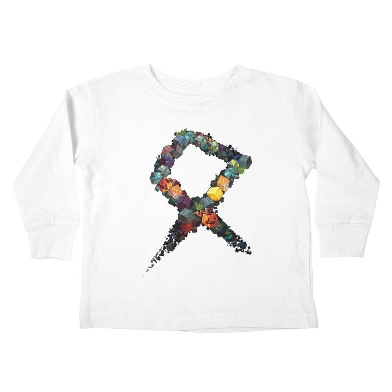 BDcraft Rune of blocks Kids Toddler Longsleeve T-Shirt by BDcraft Shop