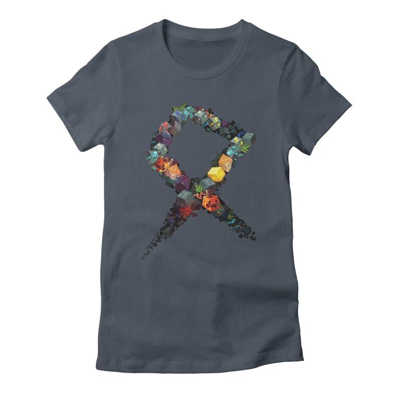 BDcraft Rune of blocks Women's T-Shirt by BDcraft Shop