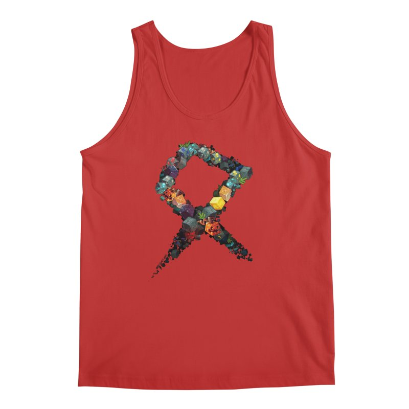 BDcraft Rune of blocks Men's Regular Tank by BDcraft Shop