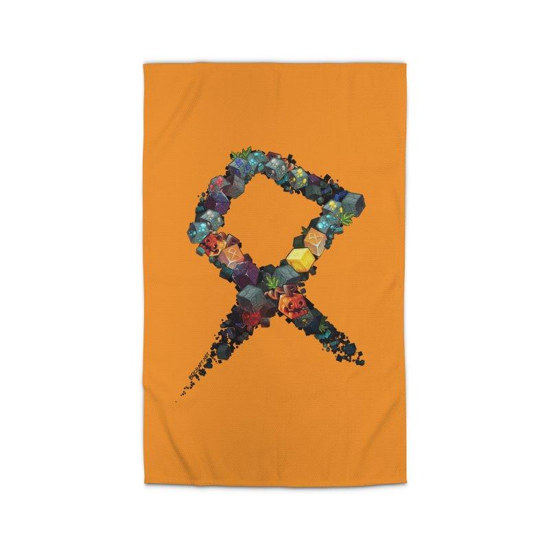 BDcraft Rune of blocks Home Rug by BDcraft Shop