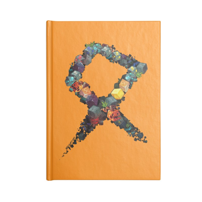 BDcraft Rune of blocks Accessories Notebook by BDcraft Shop