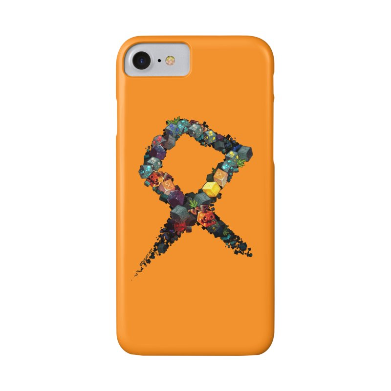 BDcraft Rune of blocks Accessories Phone Case by BDcraft Shop