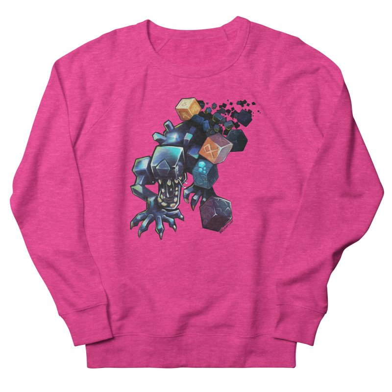 BDcraft Alien Women's French Terry Sweatshirt by BDcraft Shop