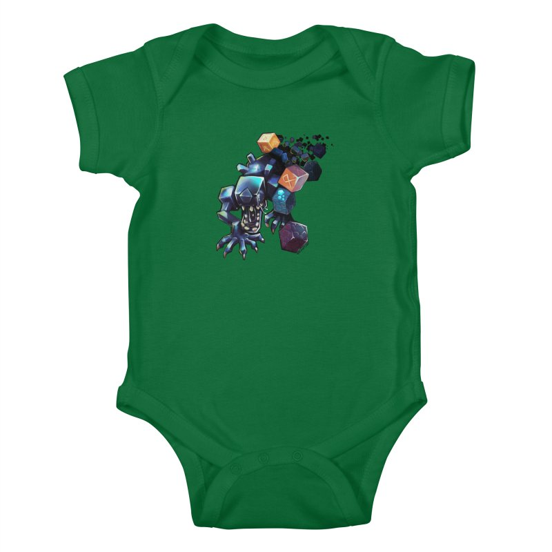 BDcraft Alien Kids Baby Bodysuit by BDcraft Shop