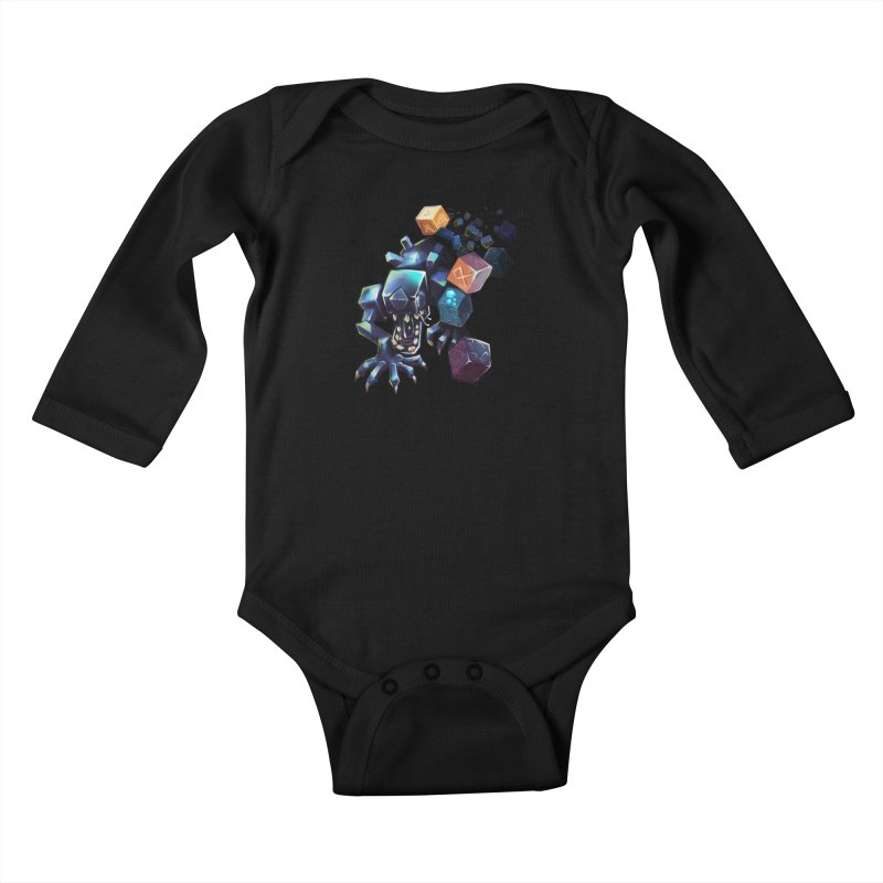 BDcraft Alien Kids Baby Longsleeve Bodysuit by BDcraft Shop