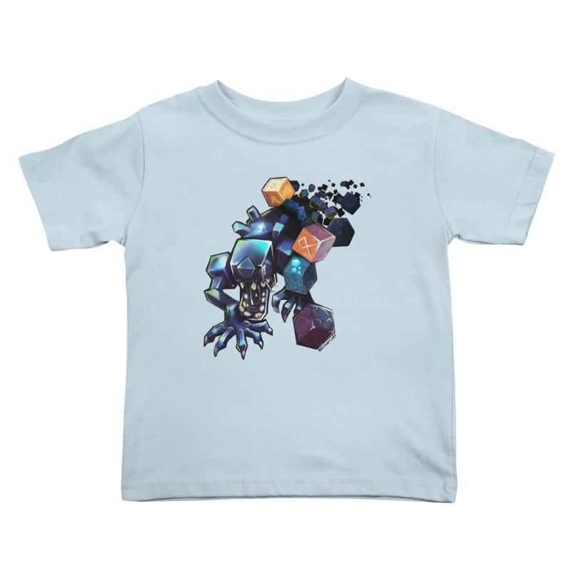 BDcraft Alien Kids Toddler T-Shirt by BDcraft Shop
