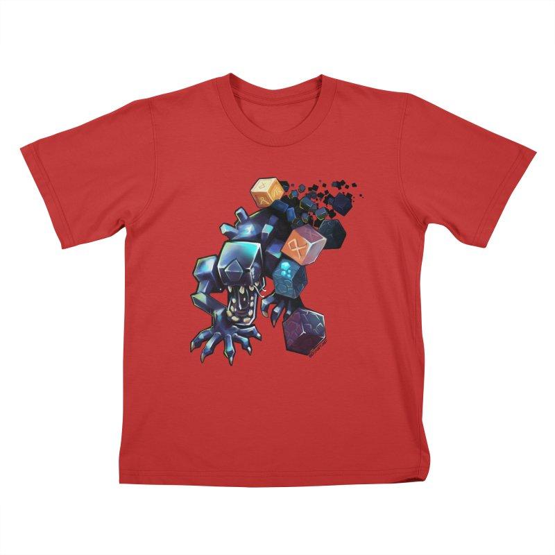 BDcraft Alien Kids T-Shirt by BDcraft Shop