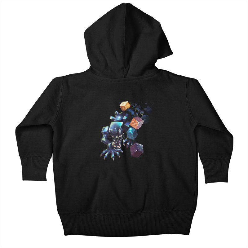 BDcraft Alien Kids Baby Zip-Up Hoody by BDcraft Shop