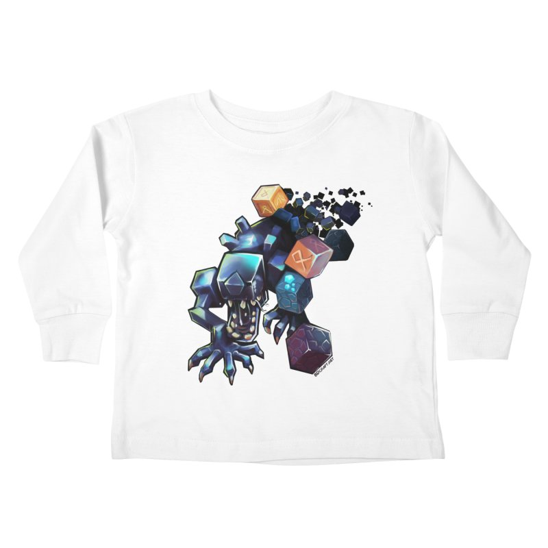 BDcraft Alien Kids Toddler Longsleeve T-Shirt by BDcraft Shop