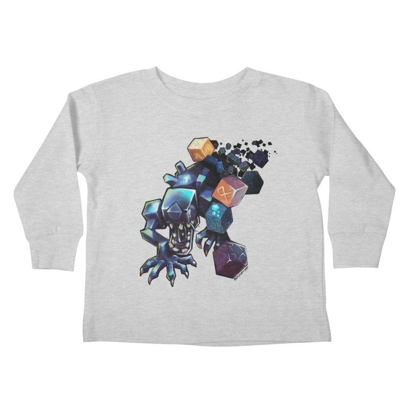 BDcraft Alien Kids Toddler Longsleeve T-Shirt by BDcraft Shop