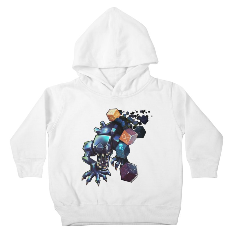 BDcraft Alien Kids Toddler Pullover Hoody by BDcraft Shop