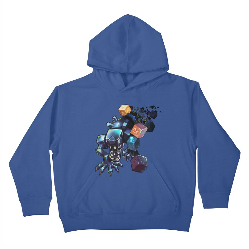 BDcraft Alien Kids Pullover Hoody by BDcraft Shop