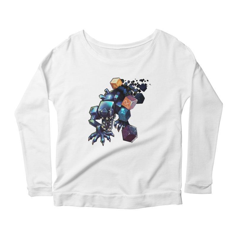 BDcraft Alien Women's Scoop Neck Longsleeve T-Shirt by BDcraft Shop