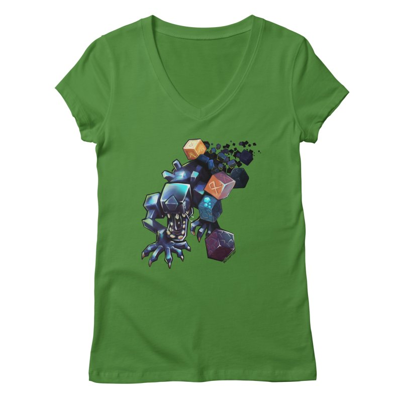 BDcraft Alien Women's V-Neck by BDcraft Shop