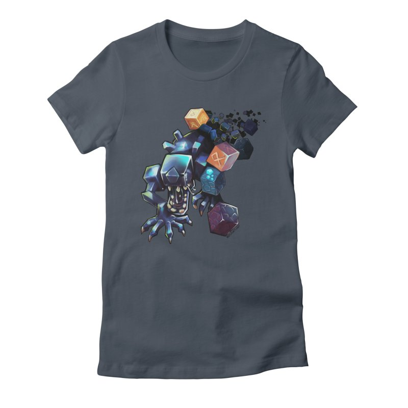 BDcraft Alien Women's Fitted T-Shirt by BDcraft Shop