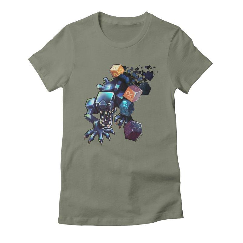 BDcraft Alien Women's T-Shirt by BDcraft Shop