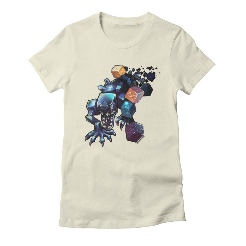 BDcraft Alien Women's Fitted T-Shirt by BDcraft Shop