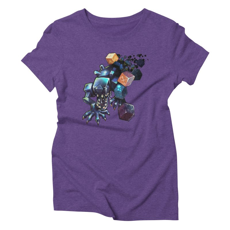 BDcraft Alien Women's Triblend T-Shirt by BDcraft Shop