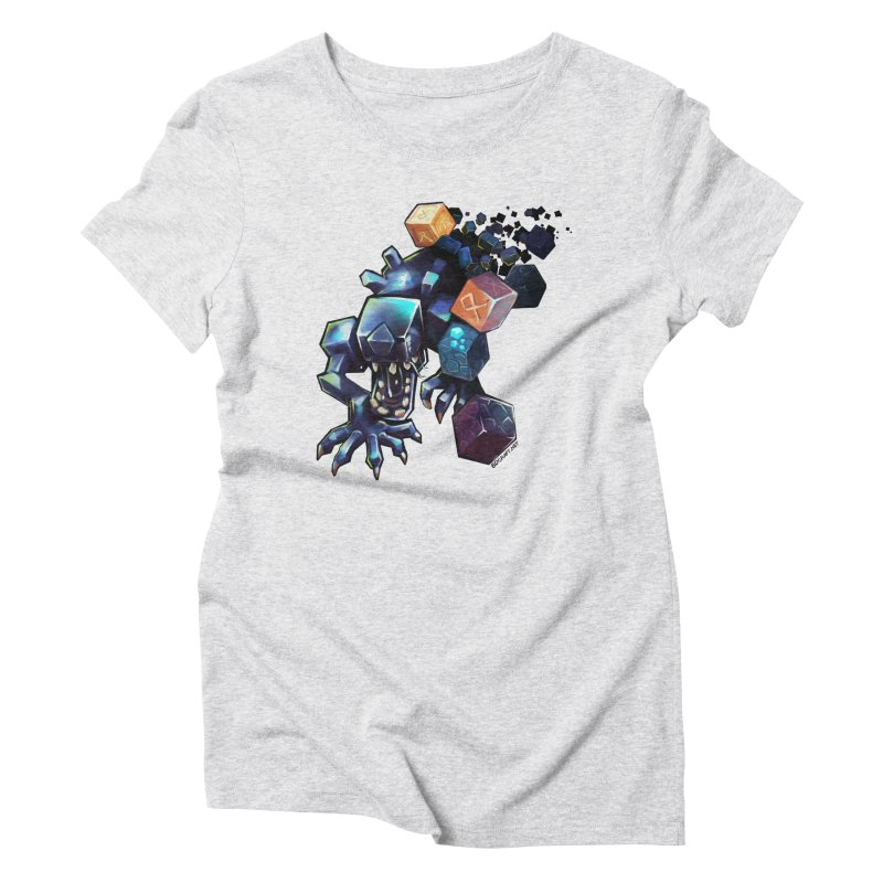 BDcraft Alien Women's Triblend T-Shirt by BDcraft Shop