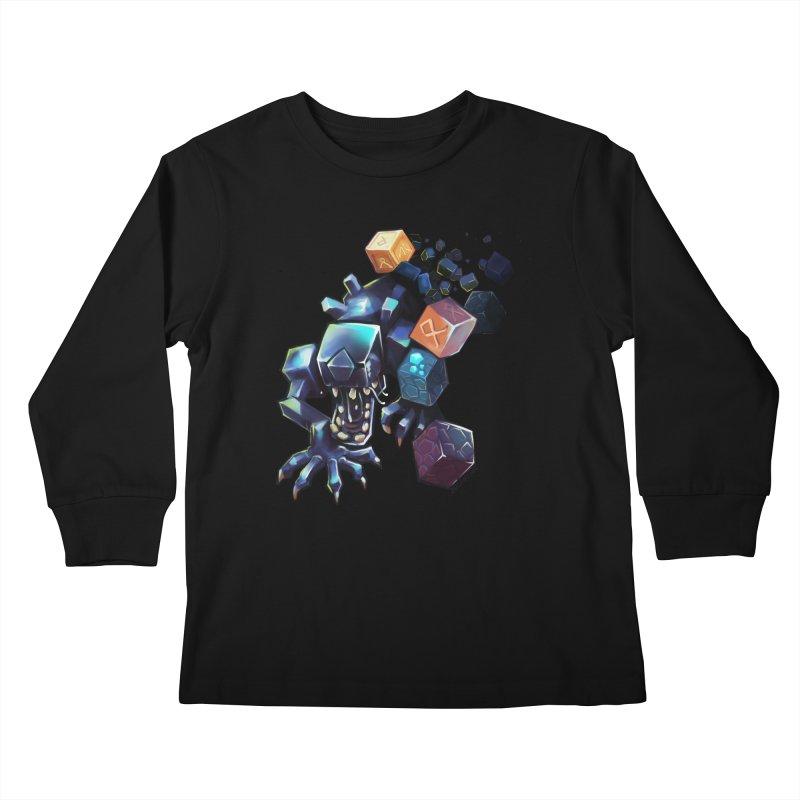 BDcraft Alien Kids Longsleeve T-Shirt by BDcraft Shop
