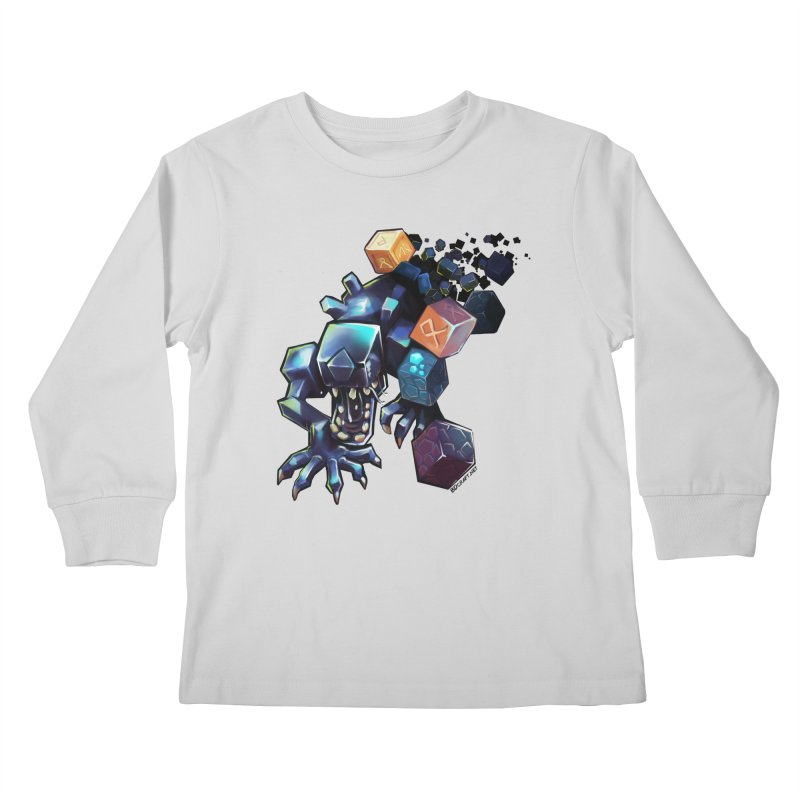 BDcraft Alien Kids Longsleeve T-Shirt by BDcraft Shop