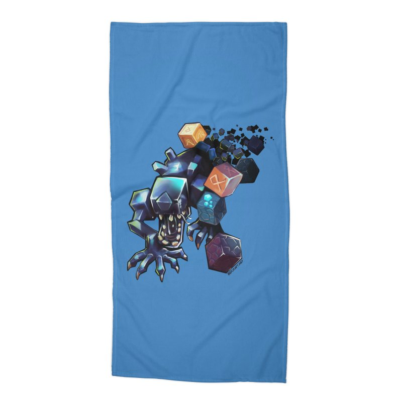 BDcraft Alien Accessories Beach Towel by BDcraft Shop