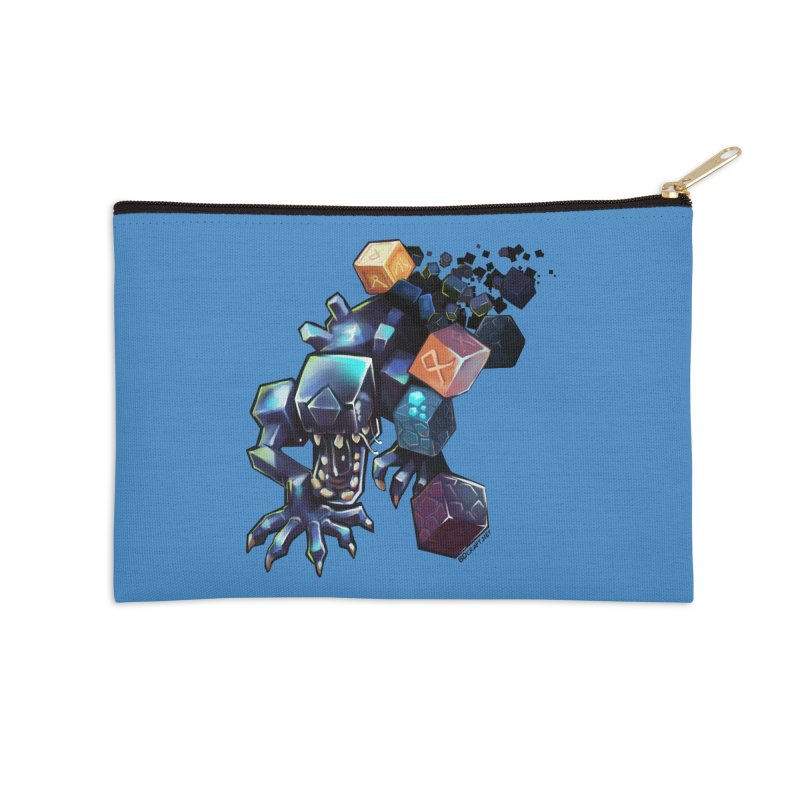BDcraft Alien Accessories Zip Pouch by BDcraft Shop