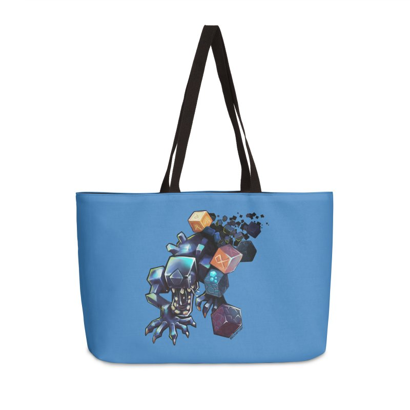 BDcraft Alien Accessories Weekender Bag Bag by BDcraft Shop