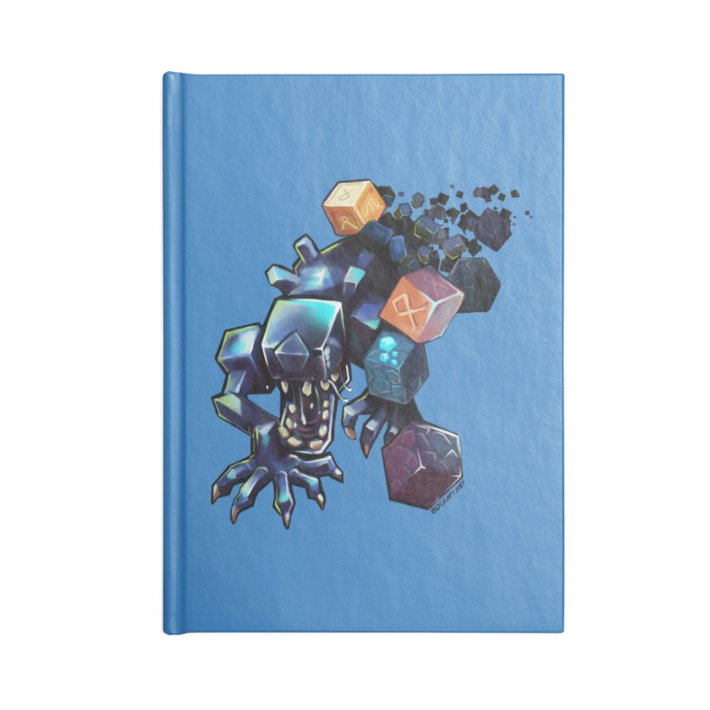 BDcraft Alien Accessories Blank Journal Notebook by BDcraft Shop