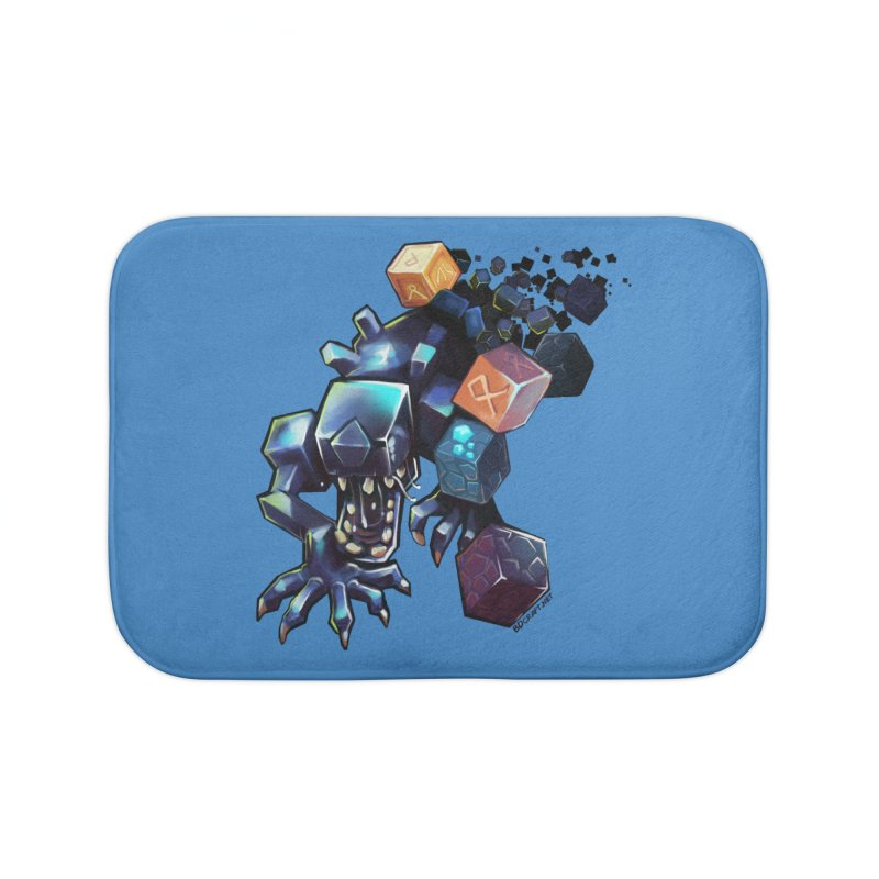BDcraft Alien Home Bath Mat by BDcraft Shop