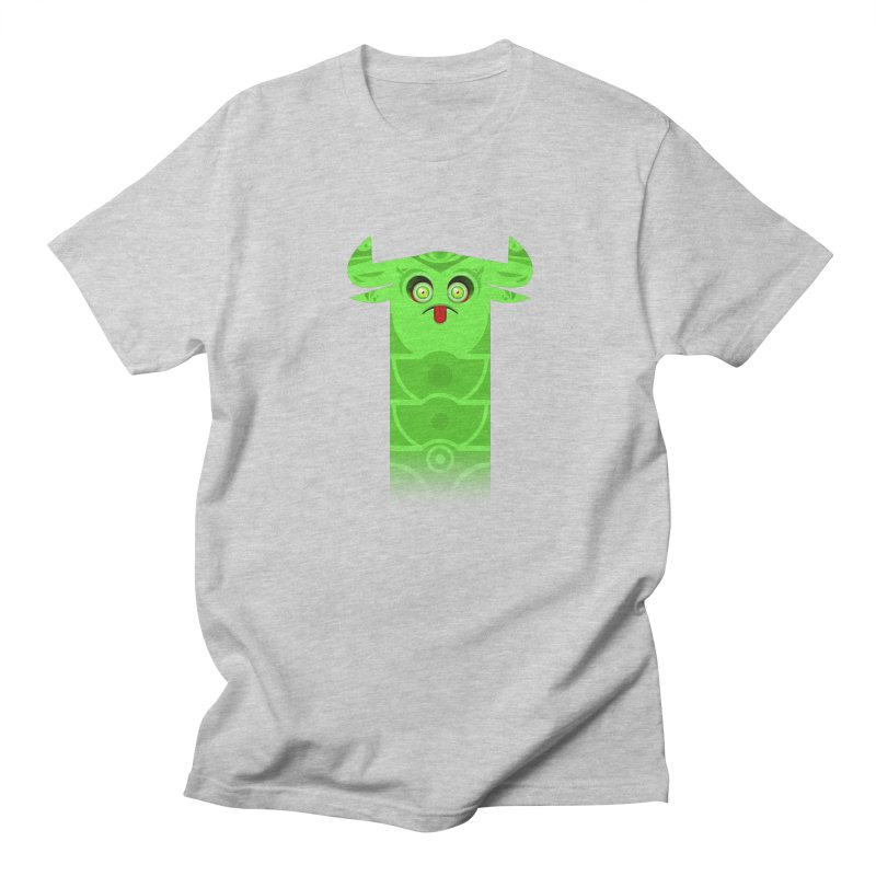 Mr. Yuchyux (green frowning) Men's T-Shirt by BEeow's Artist Shop