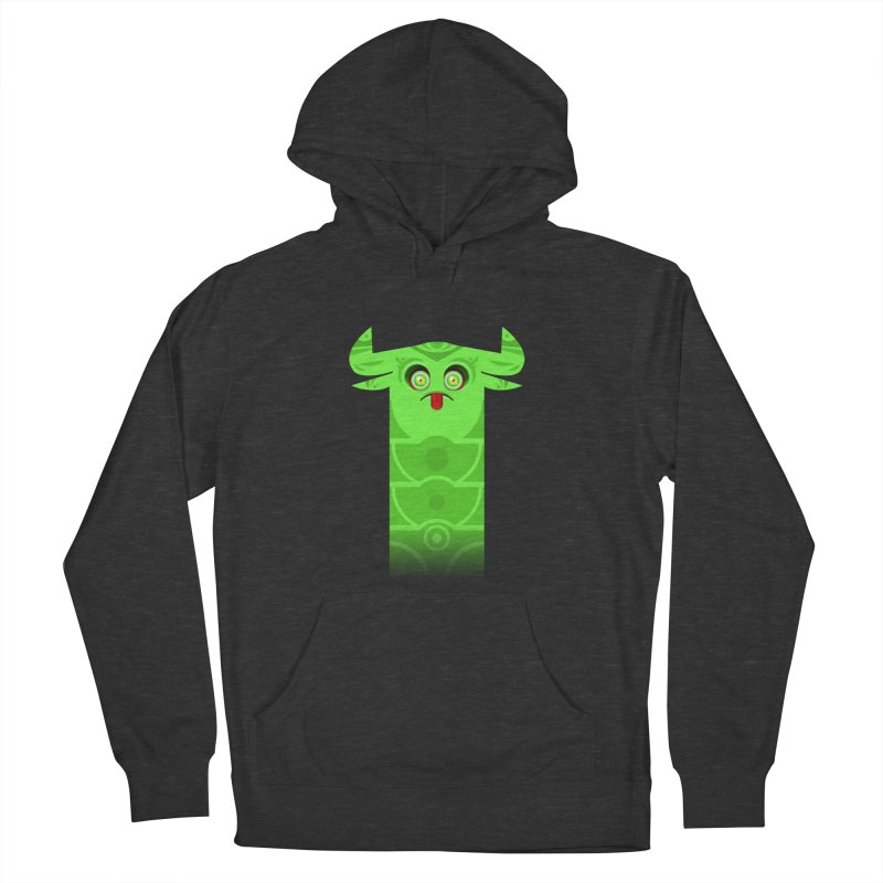 Mr. Yuchyux (green frowning) Men's Pullover Hoody by BEeow's Artist Shop