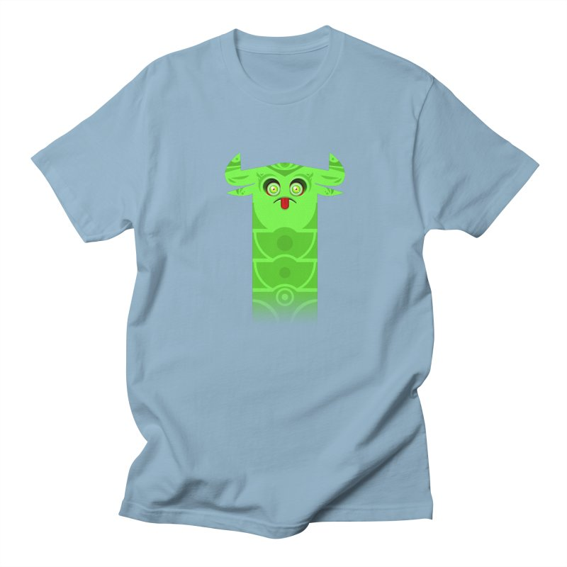 Mr. Yuchyux (green frowning) Men's Regular T-Shirt by BEeow's Artist Shop