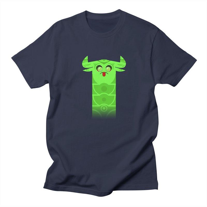 Mr. Yuchyux (green frowning) Men's Regular T-Shirt by BEeow's Artist Shop
