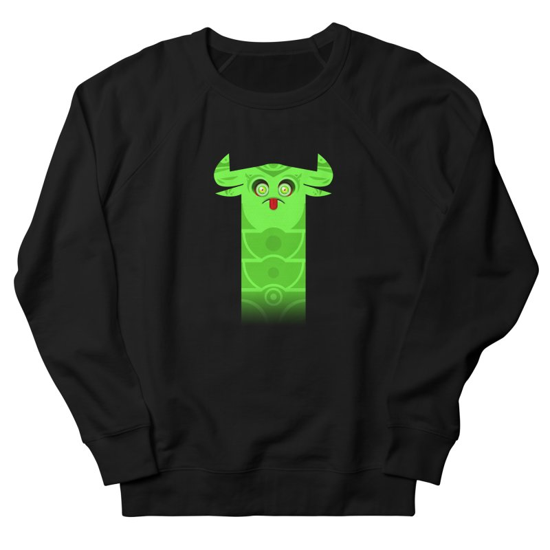 Mr. Yuchyux (green frowning) Women's Sweatshirt by BEeow's Artist Shop