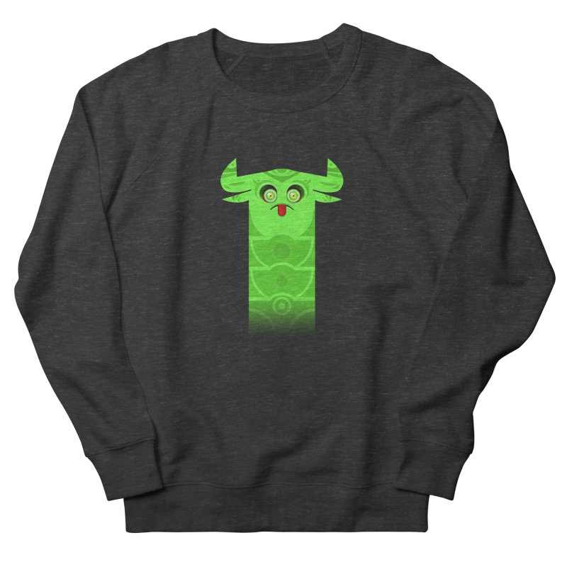 Mr. Yuchyux (green frowning) Men's Sweatshirt by BEeow's Artist Shop